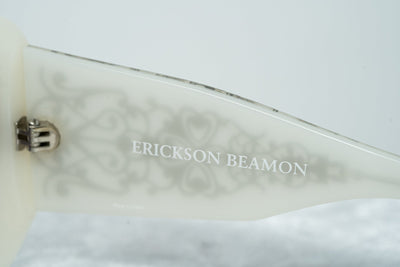 Erickson Beamon Sunglasses Oversized Grey Silver With Grey Category 3 Lenses 8EB2C3GREY - Watches & Crystals