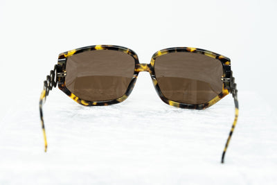 Erickson Beamon Sunglasses Rectangular Tortoise Shell Bronze With Brown Category 3 Lenses 8EB1C3T/SHELL - Watches & Crystals