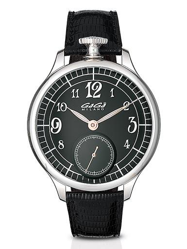 GaGà Milano 925 Argento Black Limited Edition - Watches & Crystals