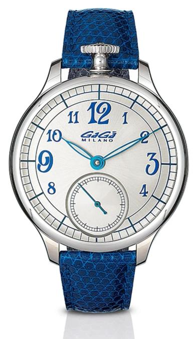 GaGà Milano 925 Argento Blue Limited Edition - Watches & Crystals