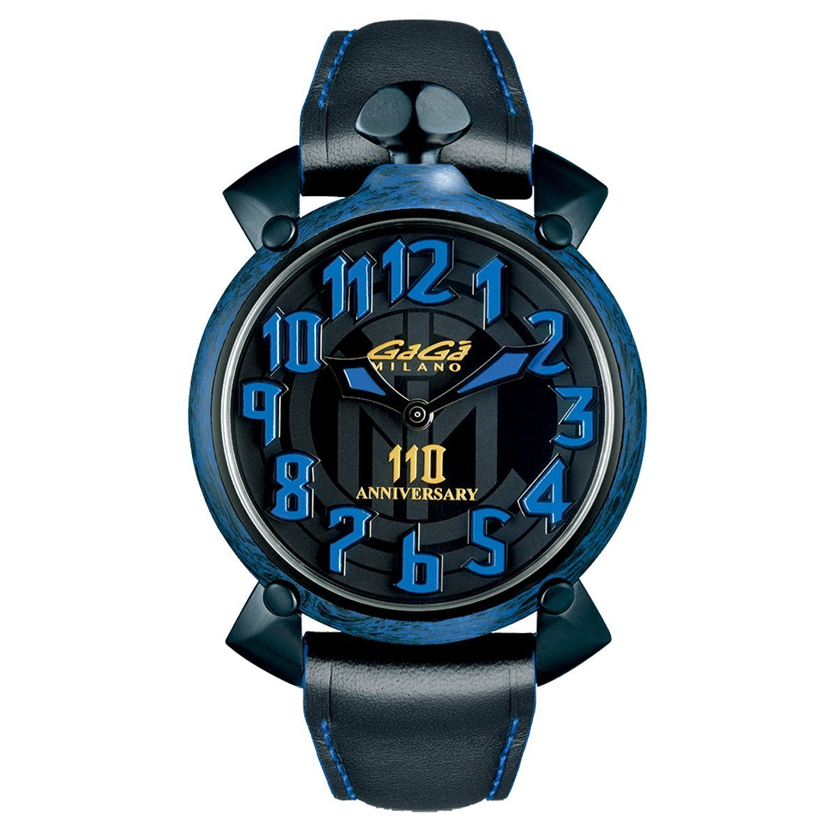 GaGà Milano Automatic 45MM Carbon Inter Milan Limited Edition - Watches & Crystals