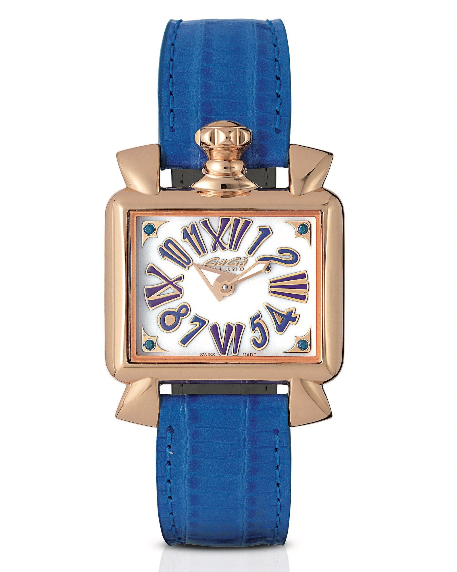 GaGà Milano Baby Napoleone 30MM Blue Rose Gold - Watches & Crystals