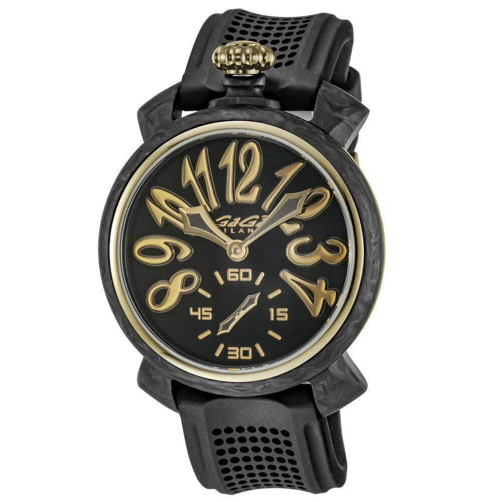 GaGà Milano Carbon 48MM Gold Limited Edition - Watches & Crystals
