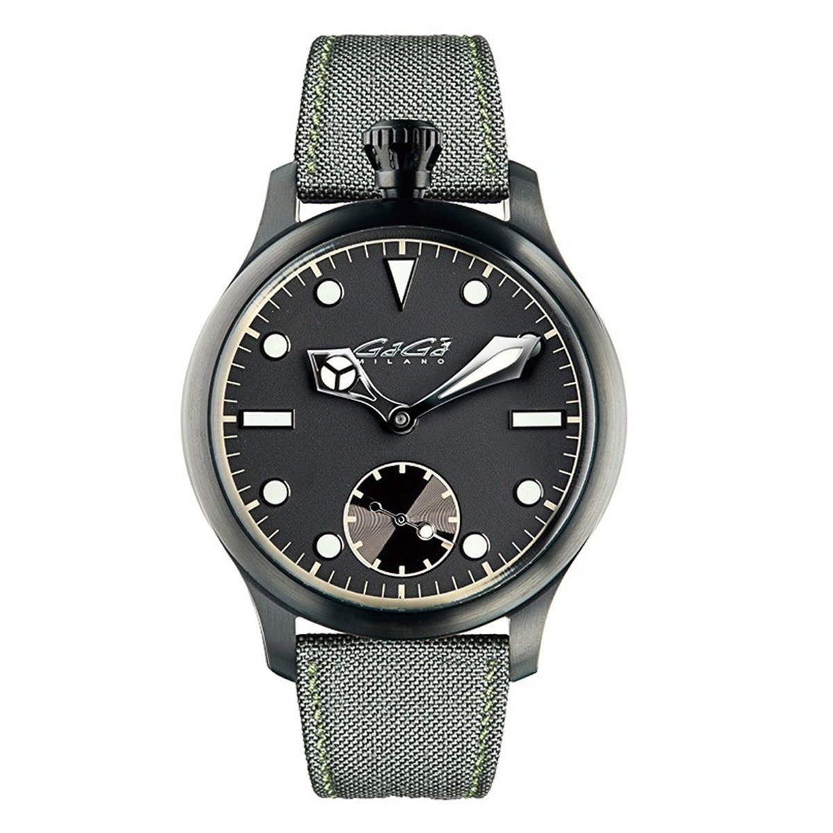 GaGà Milano Classic Steel Black PVD - Watches & Crystals