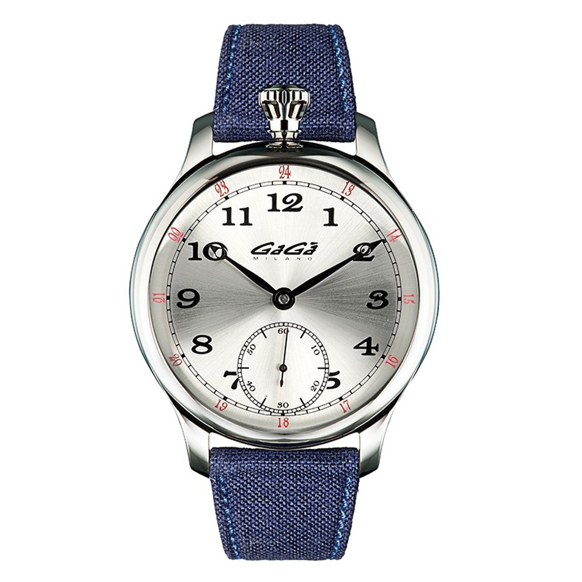 GaGà Milano Classic Steel Blue - Watches & Crystals