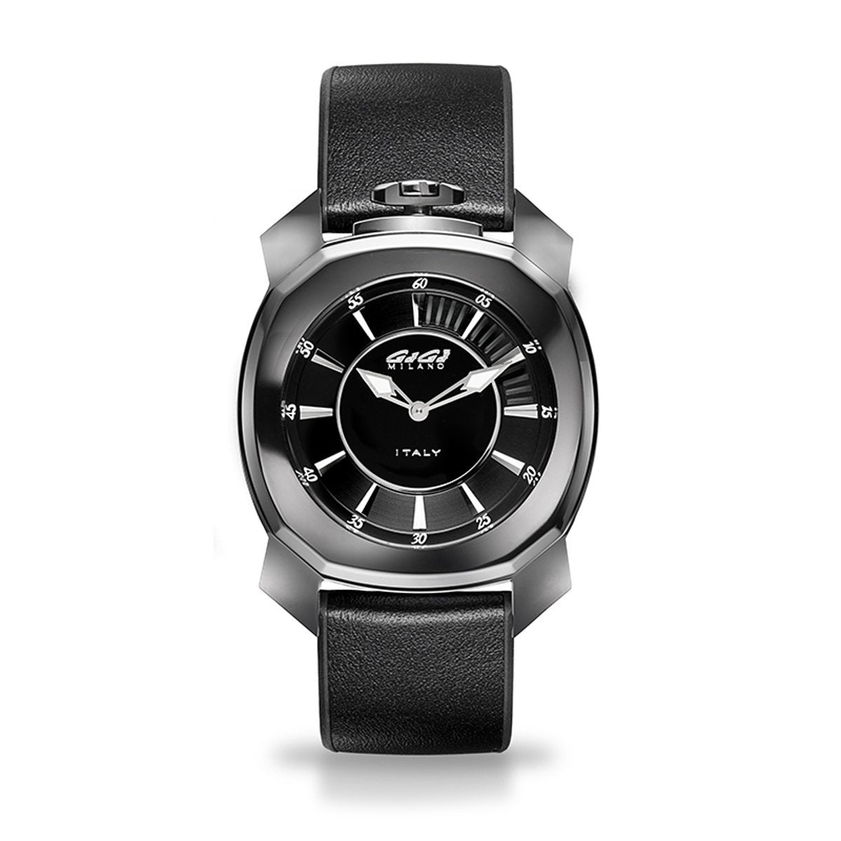 Gaga Milano Frame_One Black Ceramic - Watches & Crystals