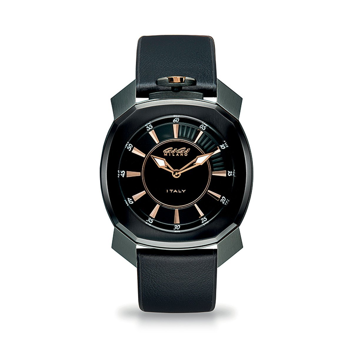 Gaga Milano Frame_One Black PVD - Watches & Crystals