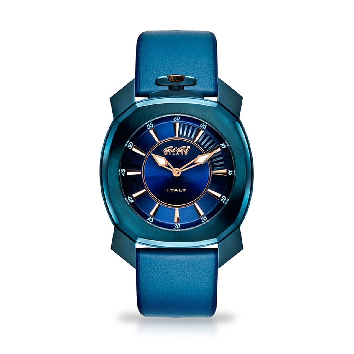 Gaga Milano Frame_One Blue - Watches & Crystals
