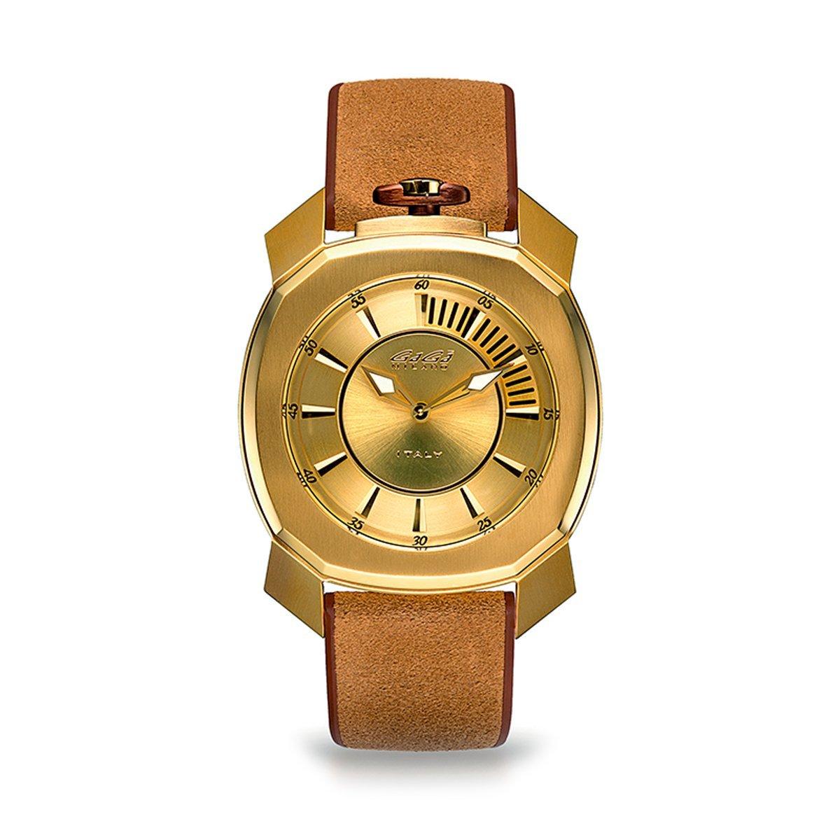 Gaga Milano Frame_One Gold - Watches & Crystals