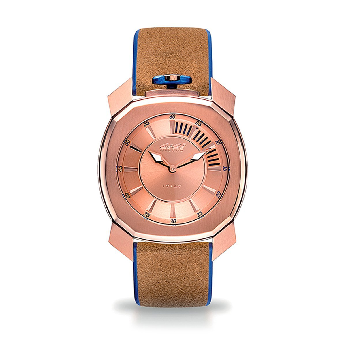 Gaga Milano Frame_One Pink Gold - Watches & Crystals
