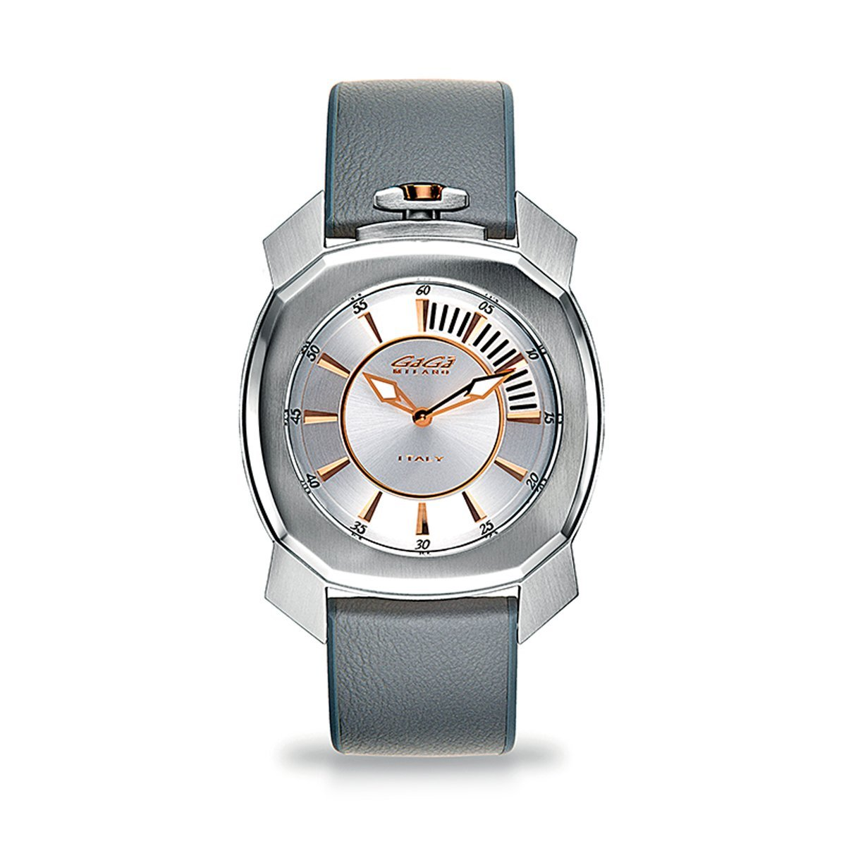 Gaga Milano Frame_One Silver - Watches & Crystals