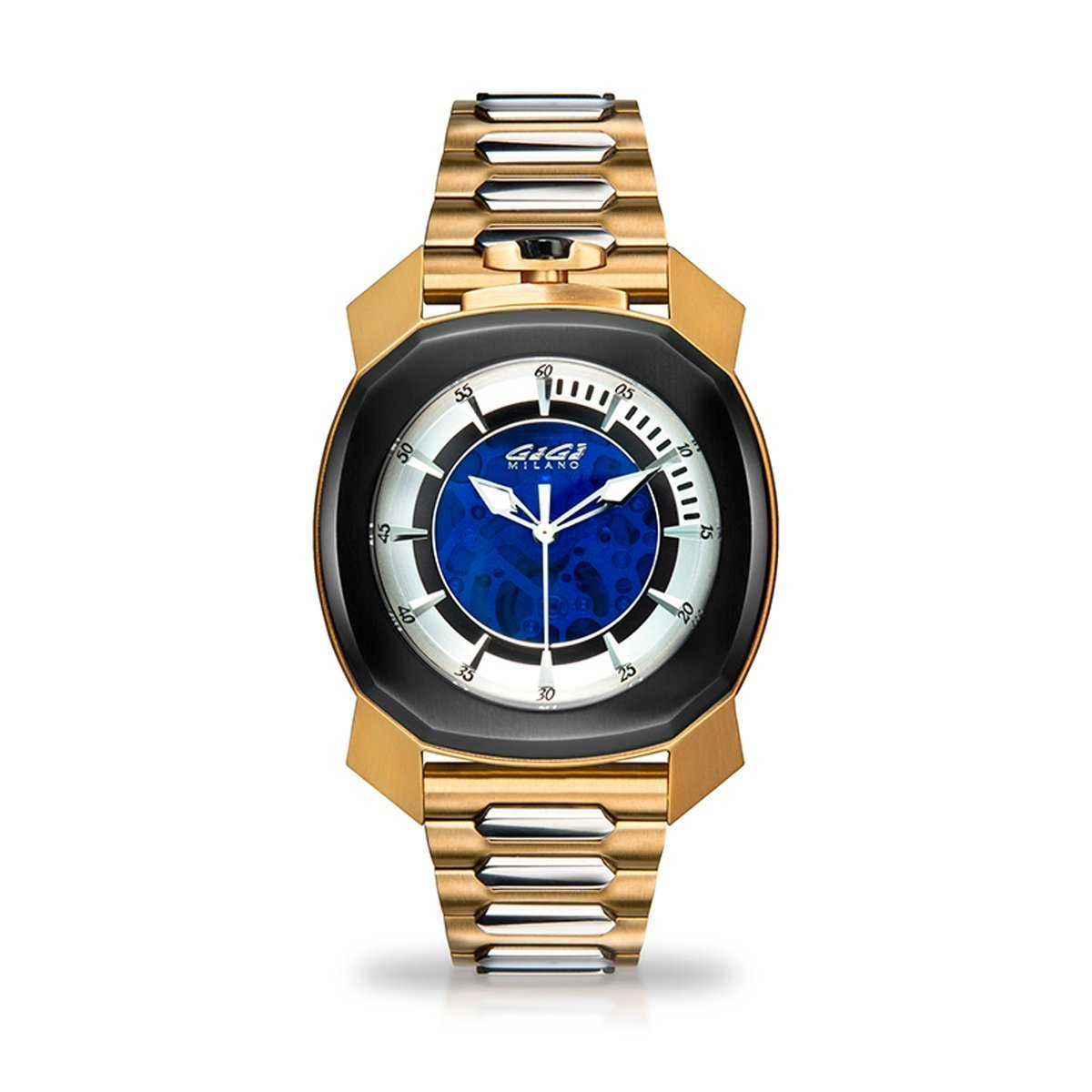 Gaga Milano Frame_One Skeleton Gold - Watches & Crystals