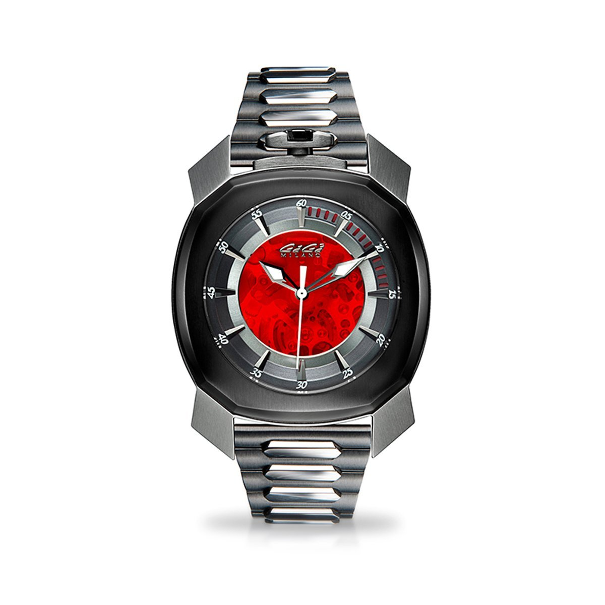 Gaga Milano Frame_One Skeleton Red - Watches & Crystals