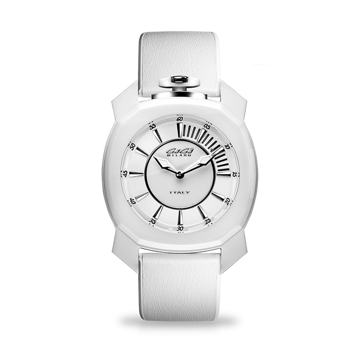 Gaga Milano Frame_One White Ceramic - Watches & Crystals