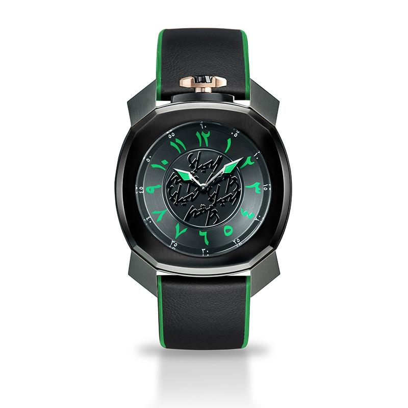 Gaga Milano Frame_One x Nadine Kanso Limited Edition - Watches & Crystals