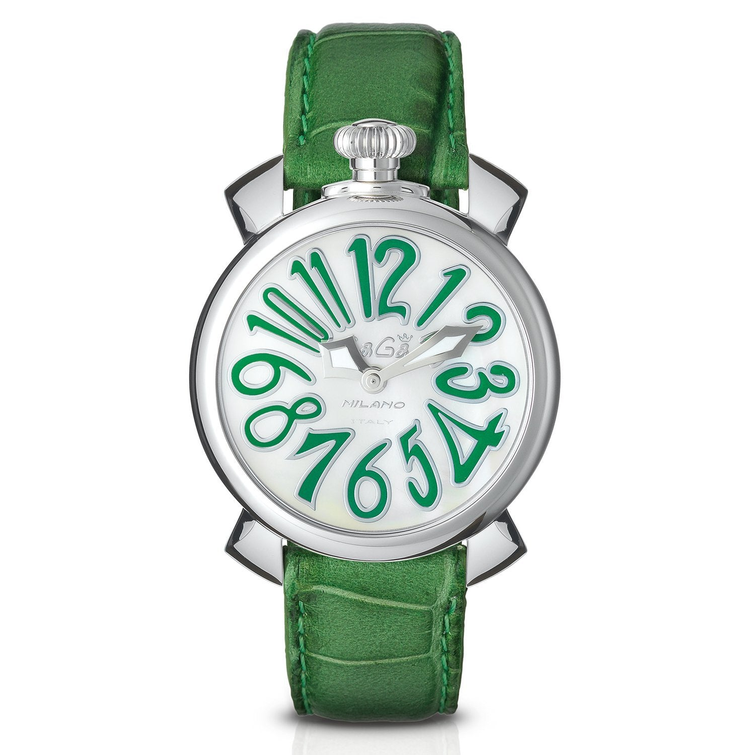 GaGà Milano Manuale 40MM Green - Watches & Crystals
