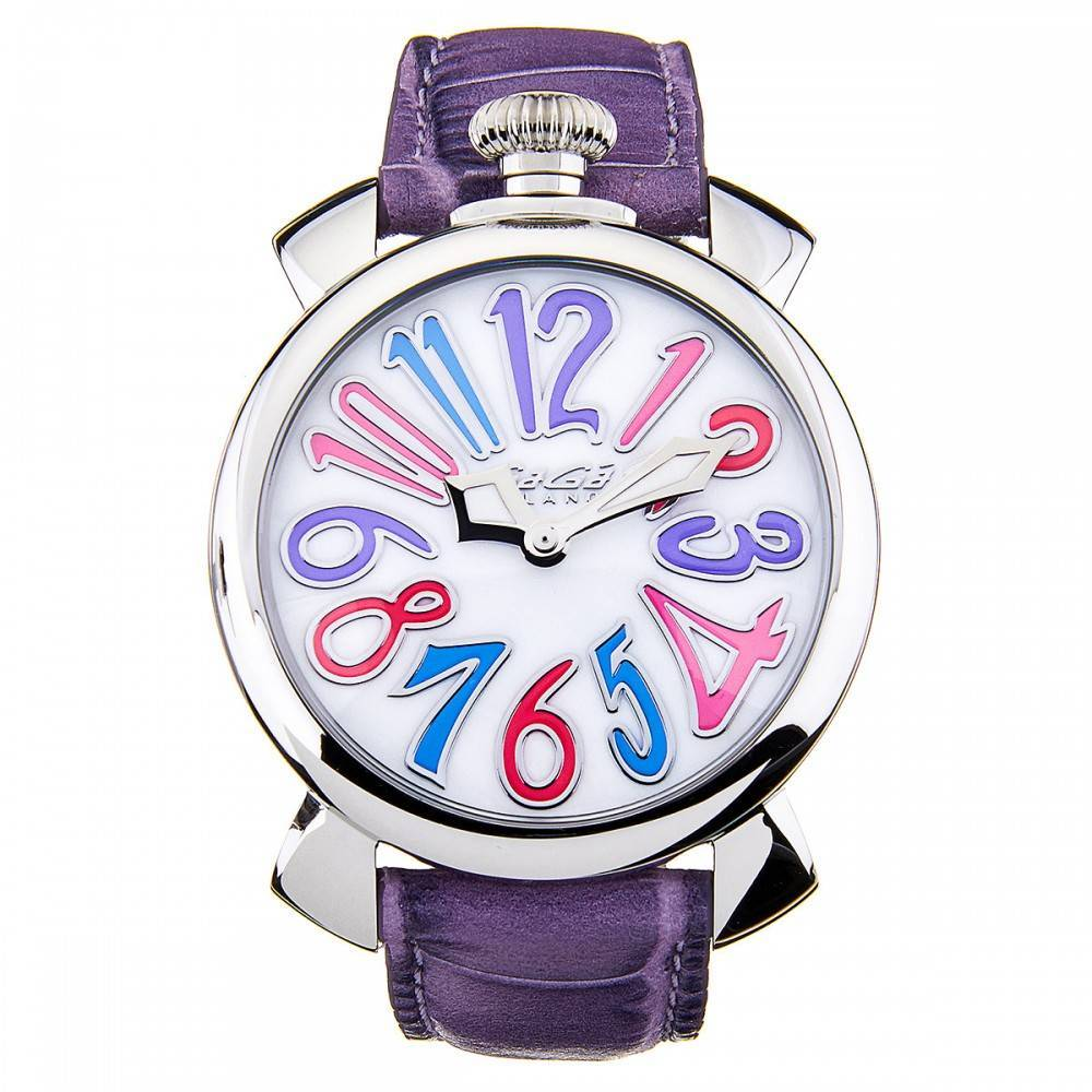 GaGà Milano Manuale 40MM Violet - Watches & Crystals