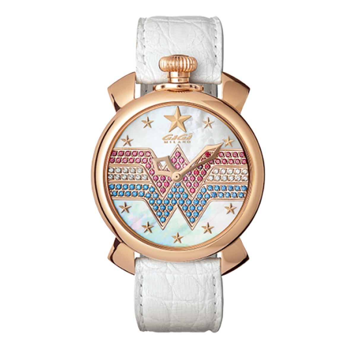 GaGà Milano Manuale 40MM Wonder Woman Limited Edition - Watches & Crystals