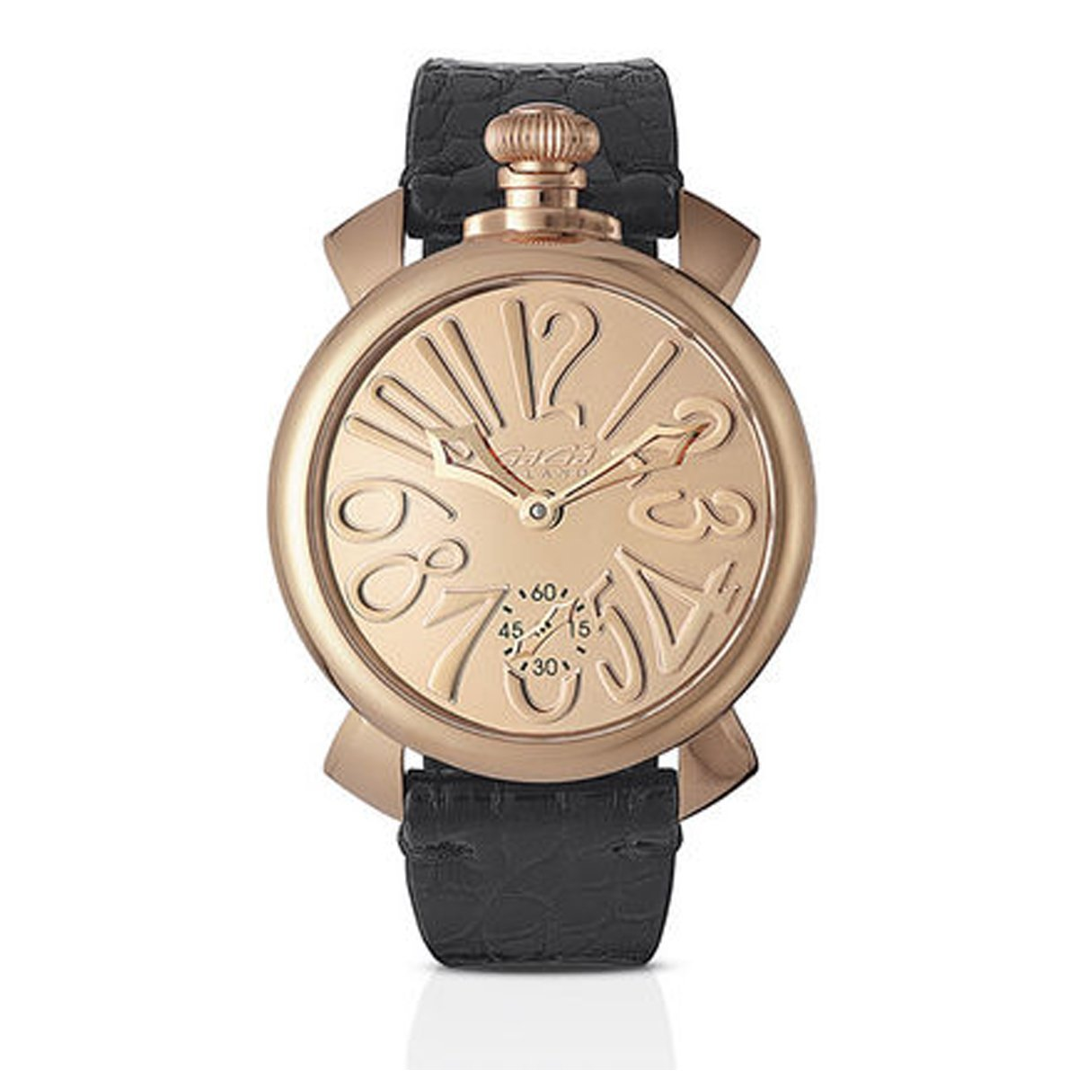 GaGà Milano Manuale 48 Mirror Rose Gold - Watches & Crystals