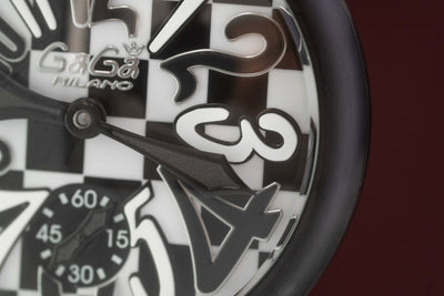 GaGà Milano Manuale 48MM Chessboard Limited Edition - Watches & Crystals