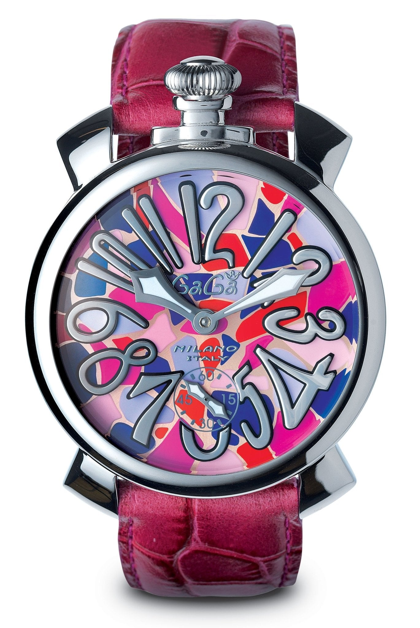 GaGà Milano Manuale 48MM Mosaico Pink - Watches & Crystals