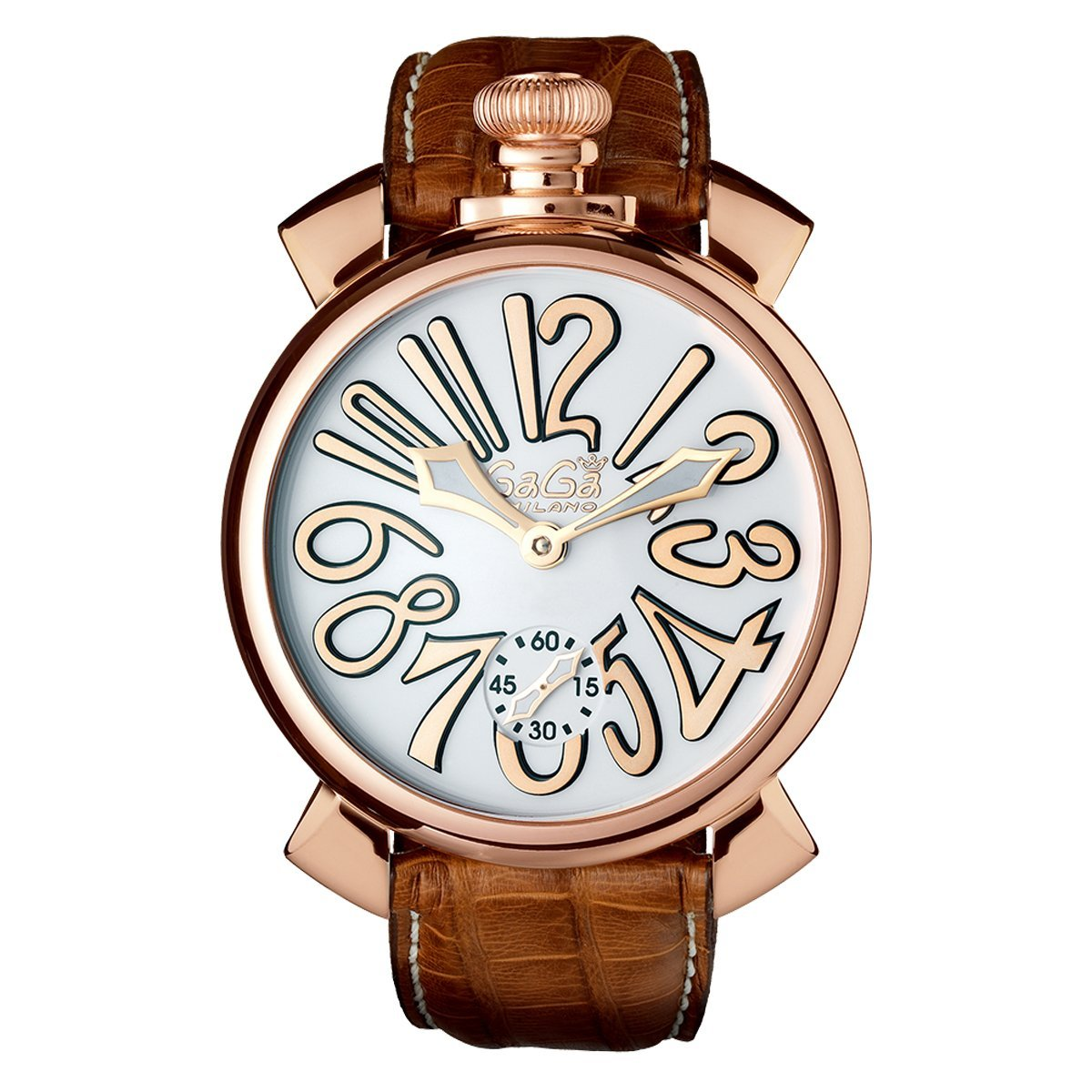 GaGà Milano Manuale 48MM Rose Gold - Watches & Crystals