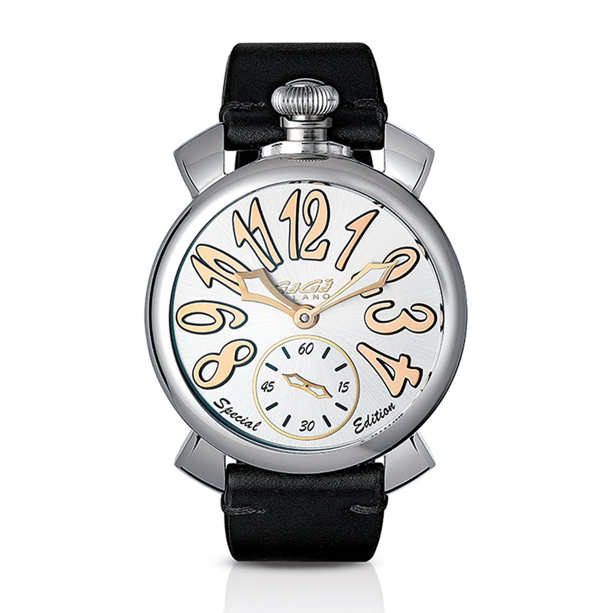 GaGà Milano Manuale 48MM Steel Special Edition - Watches & Crystals