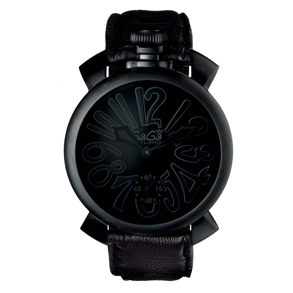 GaGà Milano Manuale 48MM Triple Black - Watches & Crystals