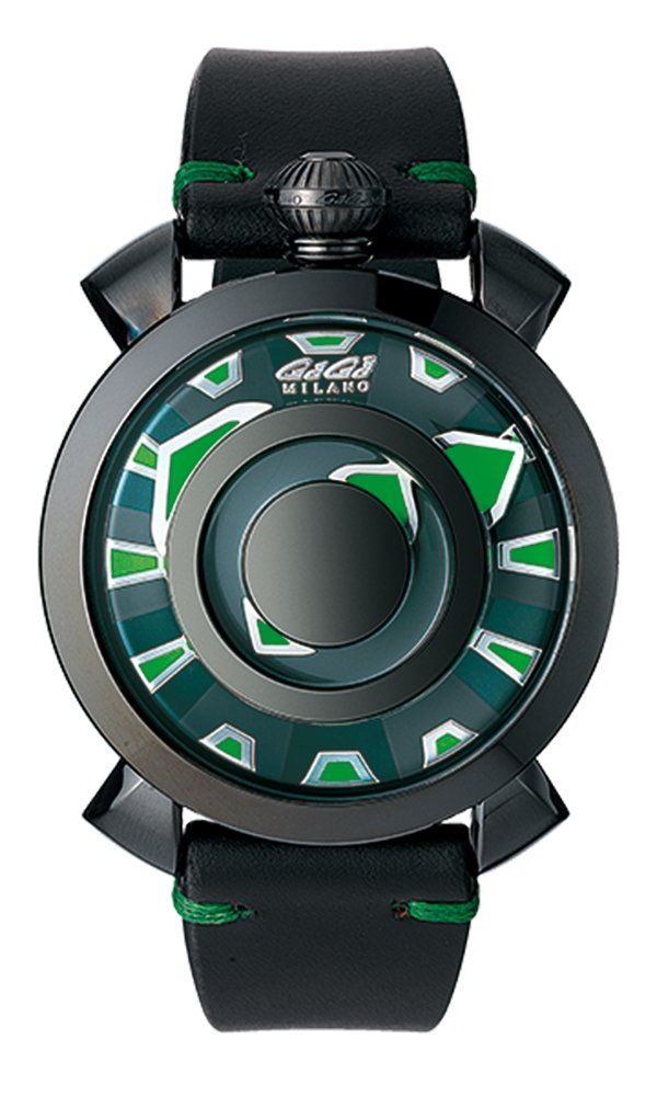 GaGà Milano Mysterious Green - Watches & Crystals