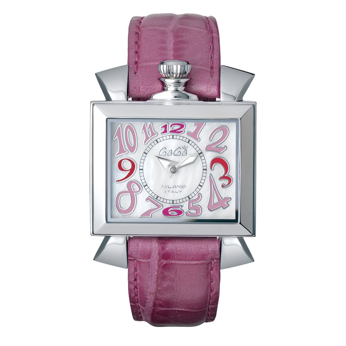 GaGà Milano Napoleone Watch Mother of Pearl Dial Pink - Watches & Crystals
