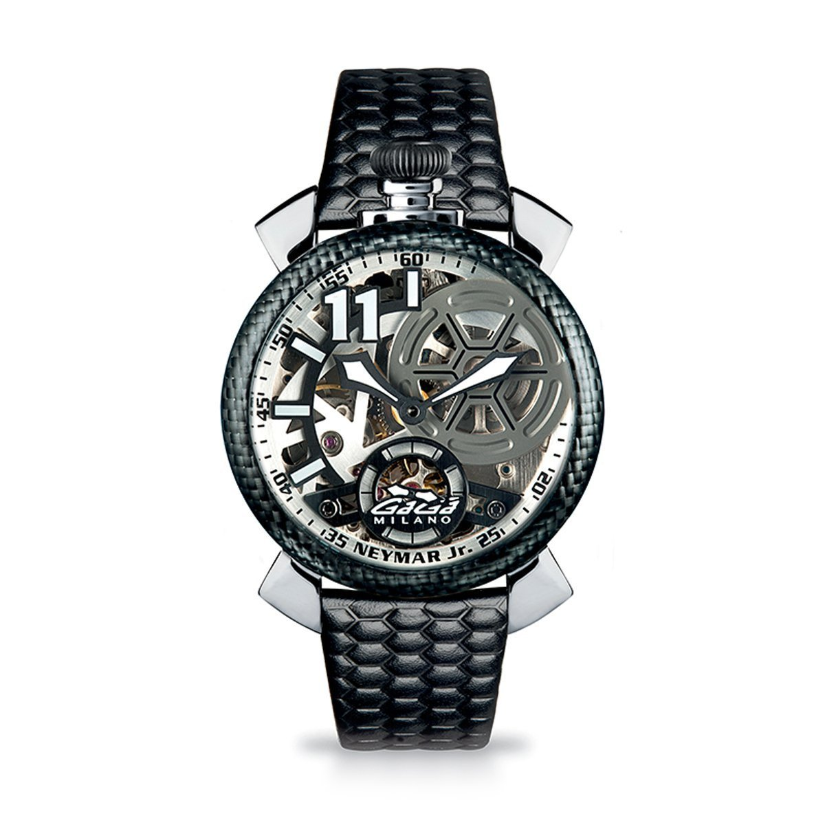 Gaga Milano Neymar Jr. Skeleton Steel Limited Edition - Watches & Crystals