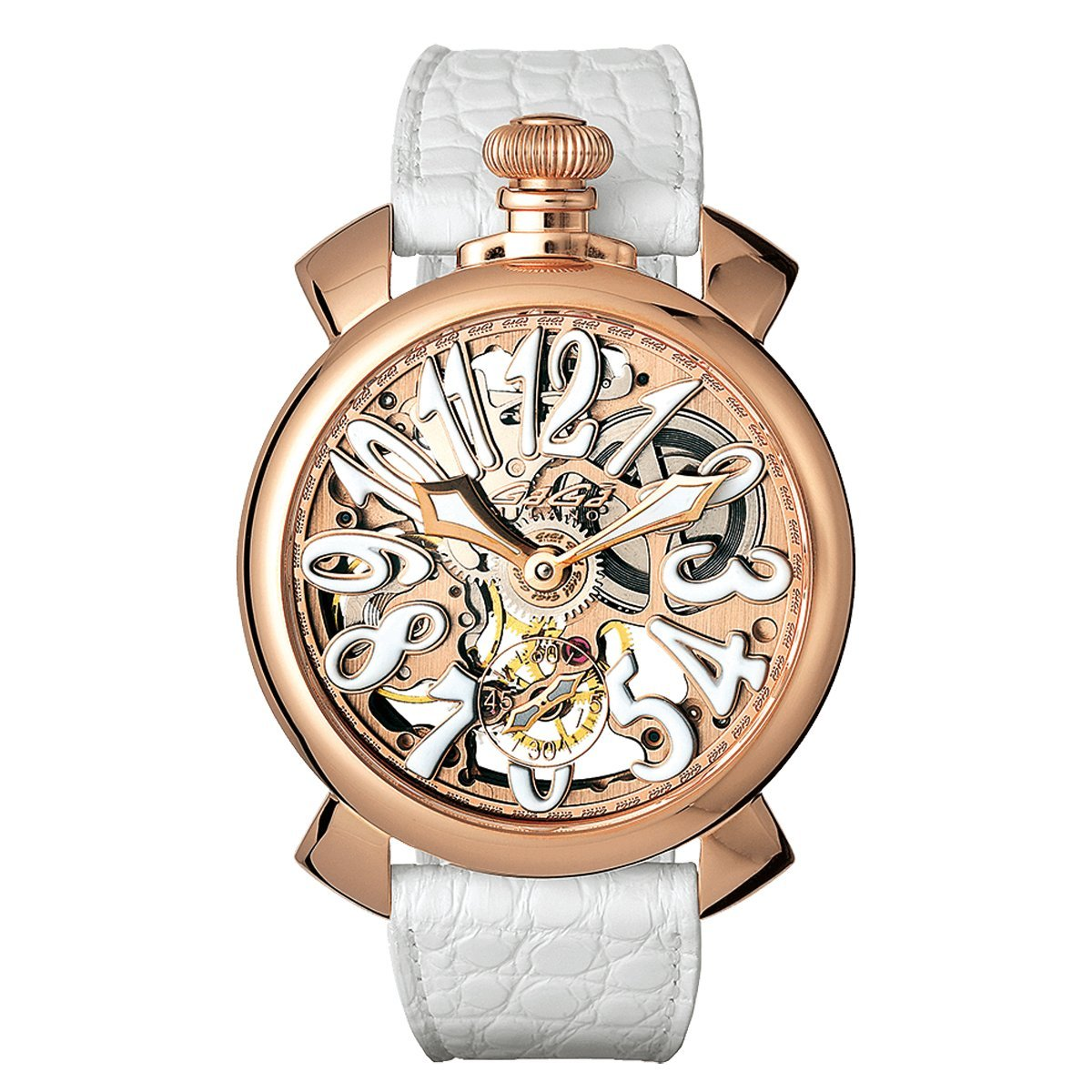 GaGà Milano Skeleton 48MM Rose Gold - Watches & Crystals