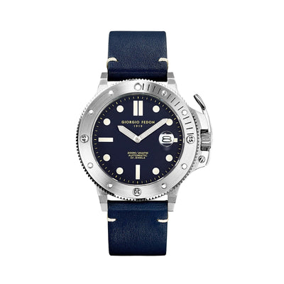 Giorgio Fedon Aquamarine Blue - Watches & Crystals