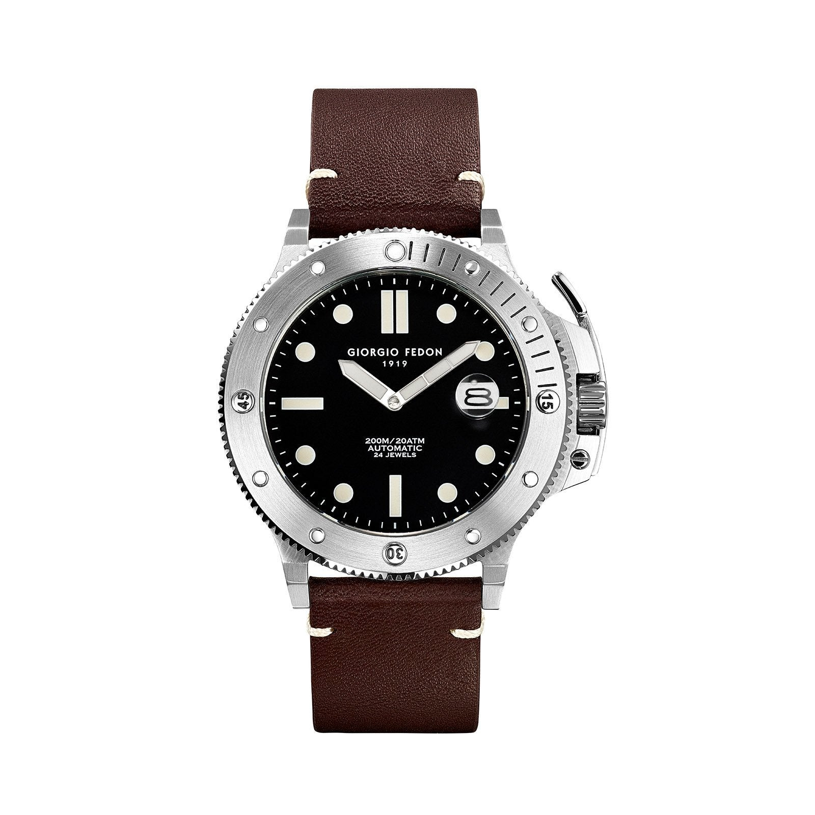 Giorgio Fedon Aquamarine Brown - Watches & Crystals