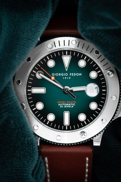 Giorgio Fedon Aquamarine Green - Watches & Crystals