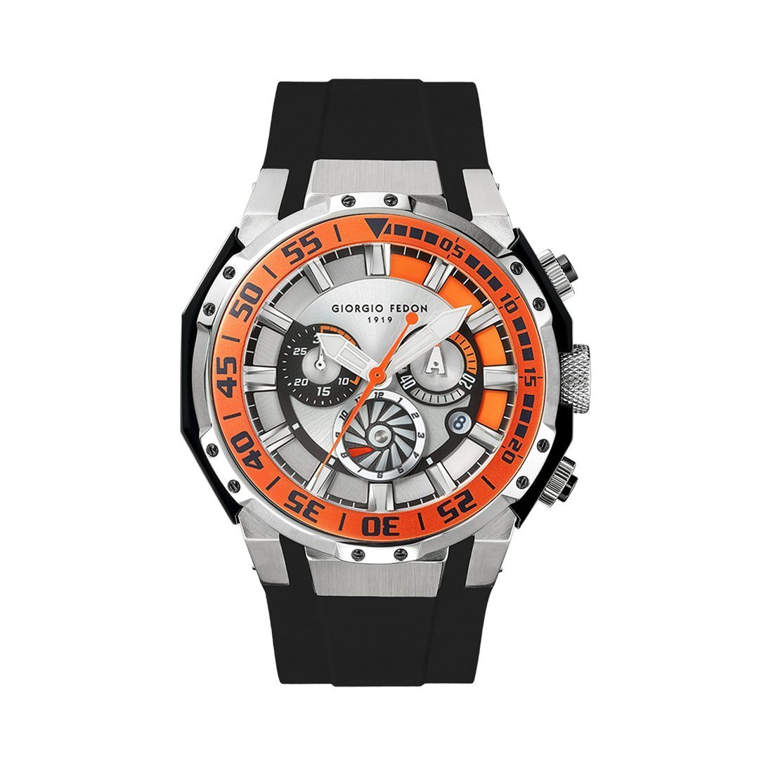 Giorgio Fedon Deep Sea Timer II Orange - Watches & Crystals
