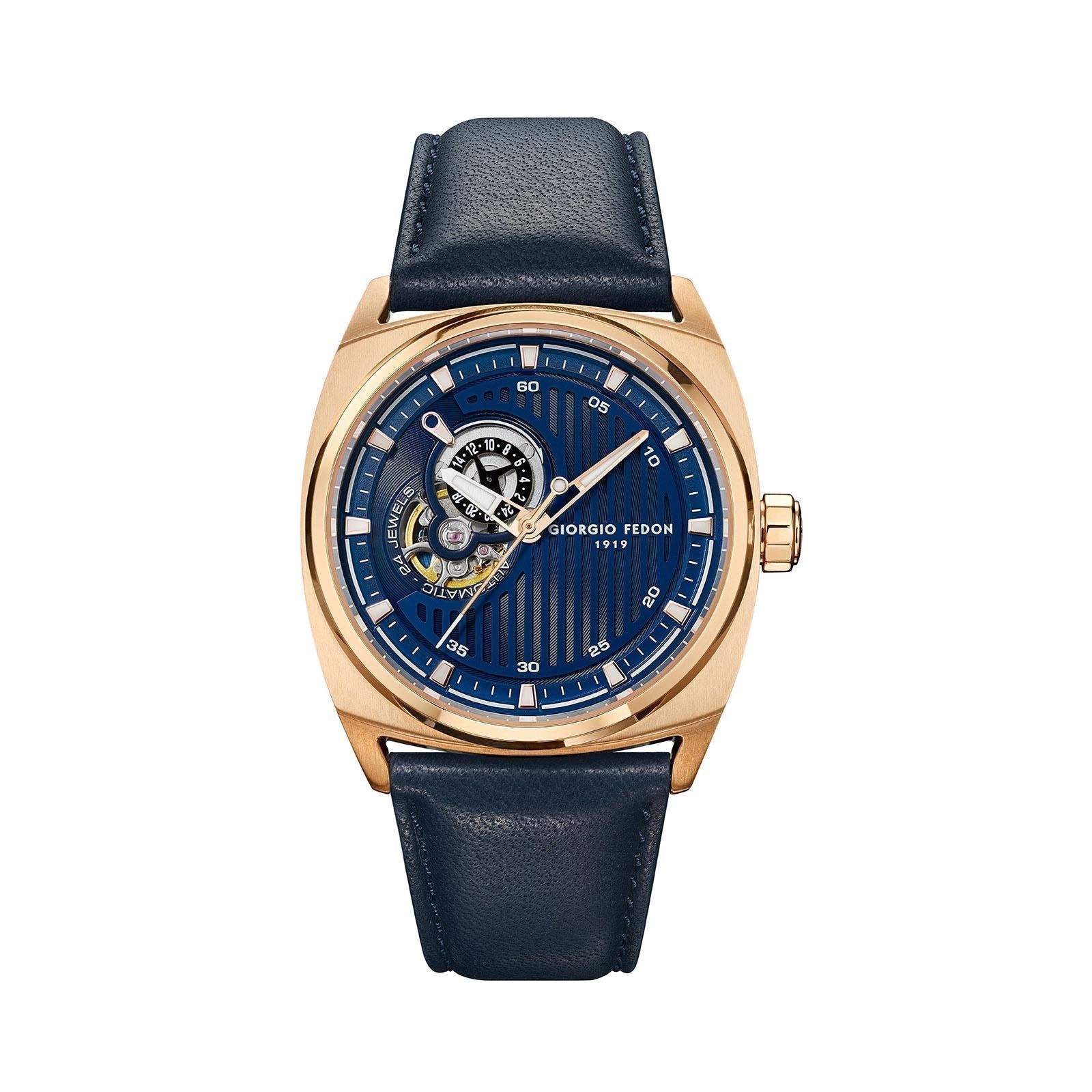 Giorgio Fedon Legend Blue IP Rose Gold - Watches & Crystals