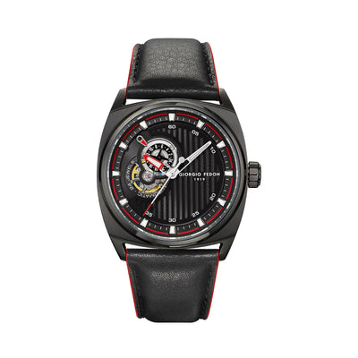 Giorgio Fedon Legend Red Black PVD - Watches & Crystals