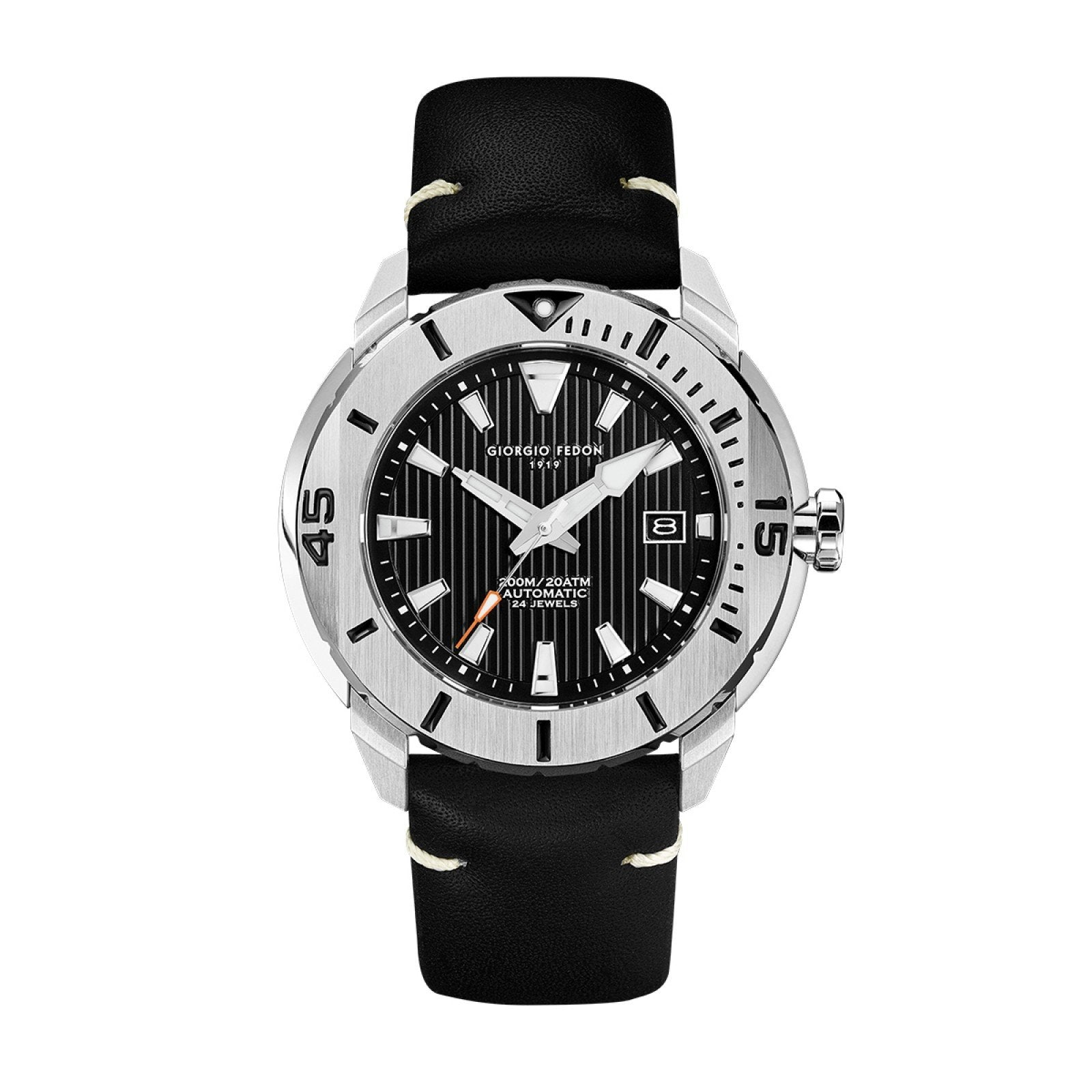Giorgio Fedon Ocean Hover Black - Watches & Crystals