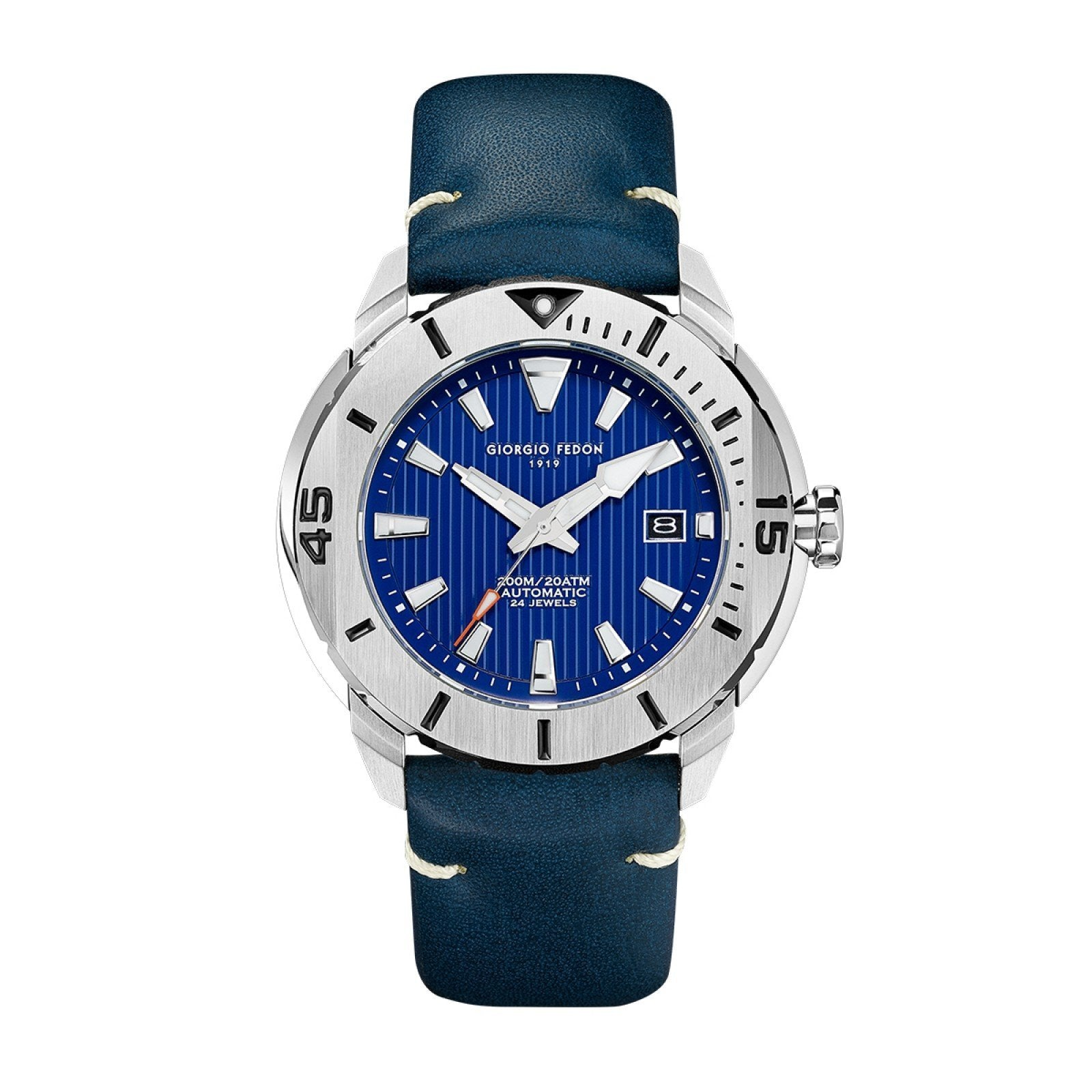 Giorgio Fedon Ocean Hover Blue - Watches & Crystals