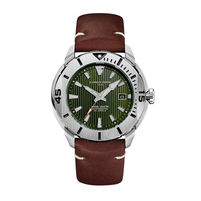 Giorgio Fedon Ocean Hover Green - Watches & Crystals