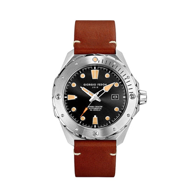 Giorgio Fedon Ocean Walker Brown - Watches & Crystals