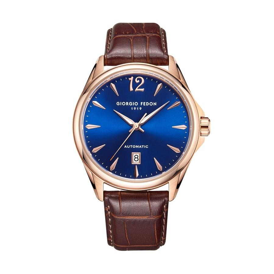 Giorgio Fedon PAT Blue IP Rose Gold - Watches & Crystals