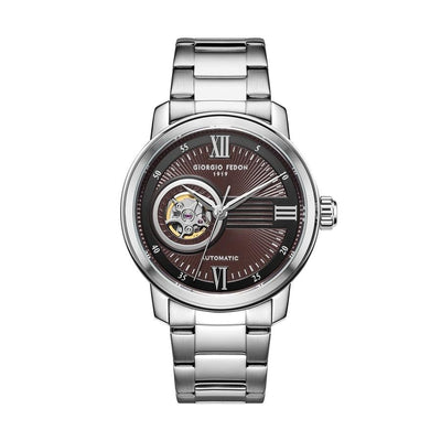 Giorgio Fedon PCQ Brown Steel - Watches & Crystals