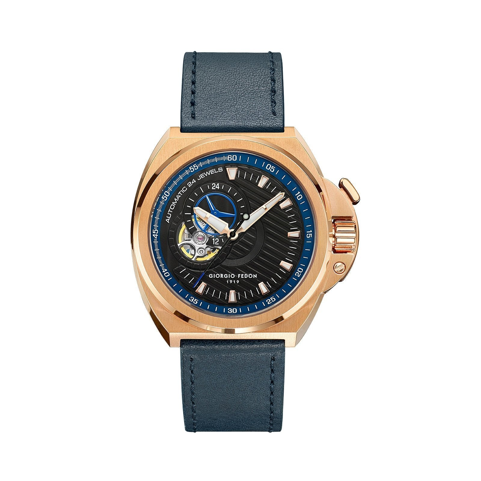 Giorgio Fedon Skywalker IP Rose Gold - Watches & Crystals