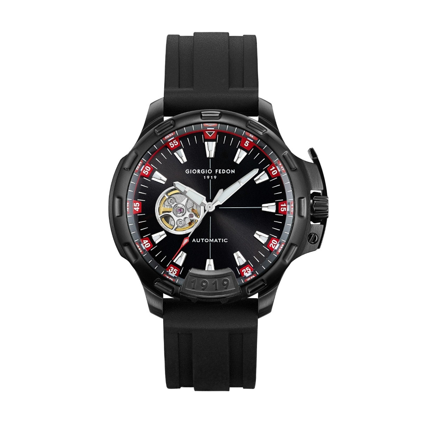 Giorgio Fedon Timeless IX Black PVD - Watches & Crystals
