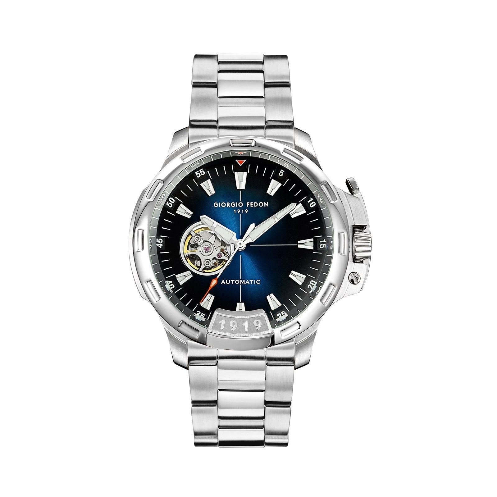 Giorgio Fedon Timeless IX Blue Steel - Watches & Crystals