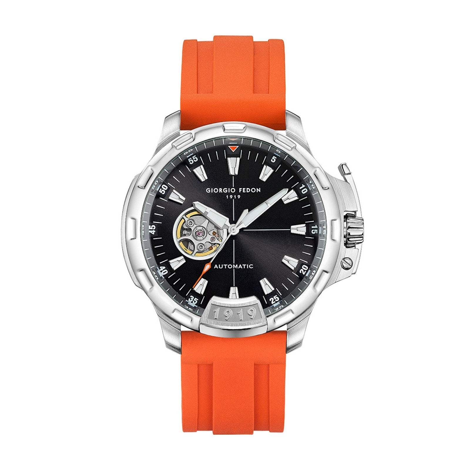 Giorgio Fedon Timeless IX Orange - Watches & Crystals