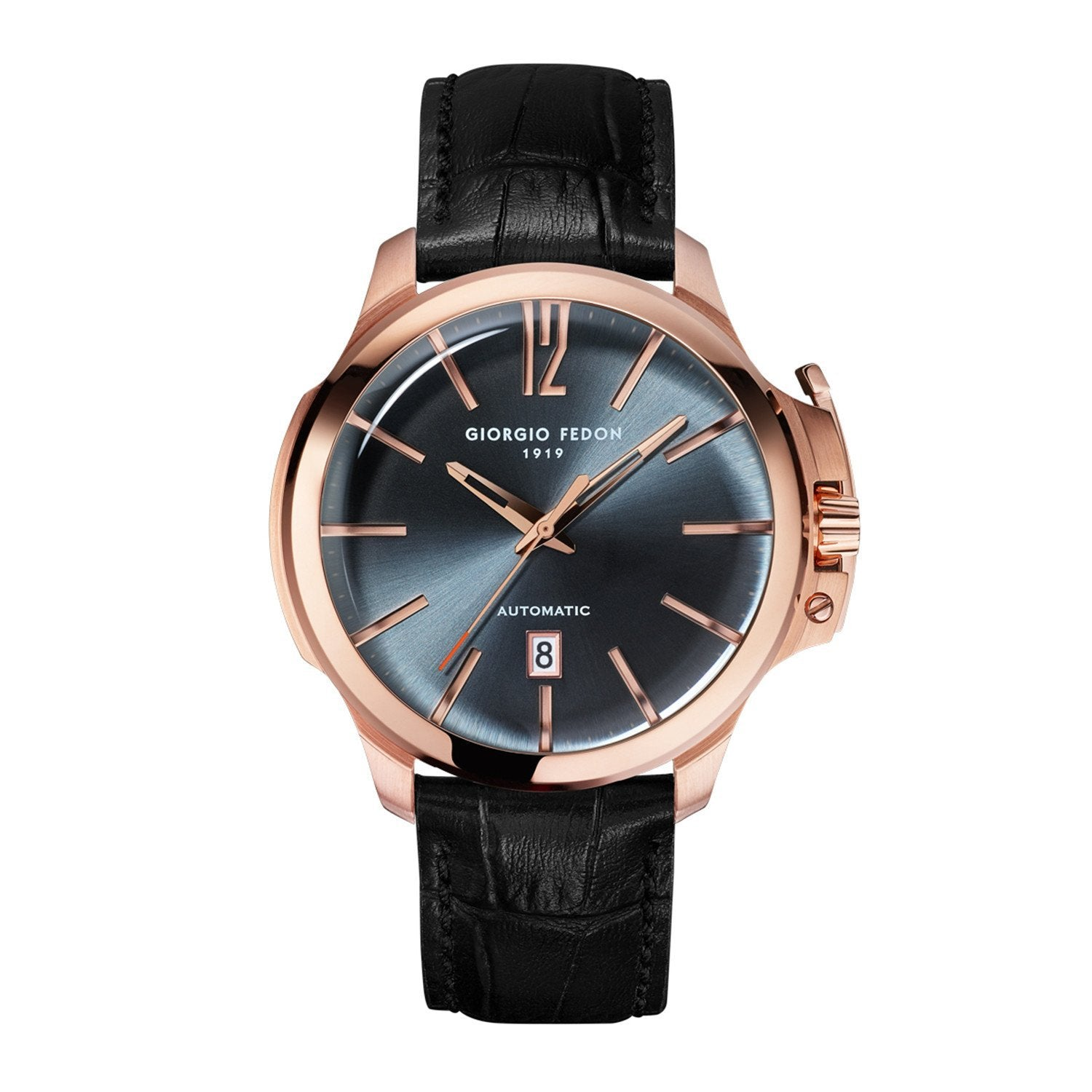 Giorgio Fedon Timeless VI Black Rose Gold - Watches & Crystals
