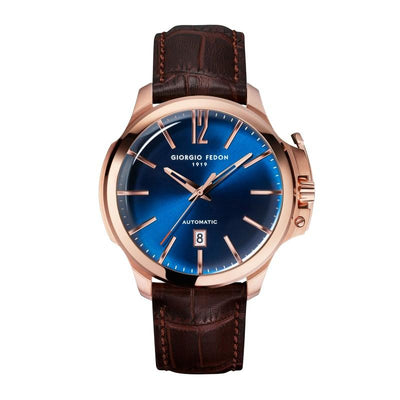 Giorgio Fedon Timeless VI Blue Rose Gold - Watches & Crystals